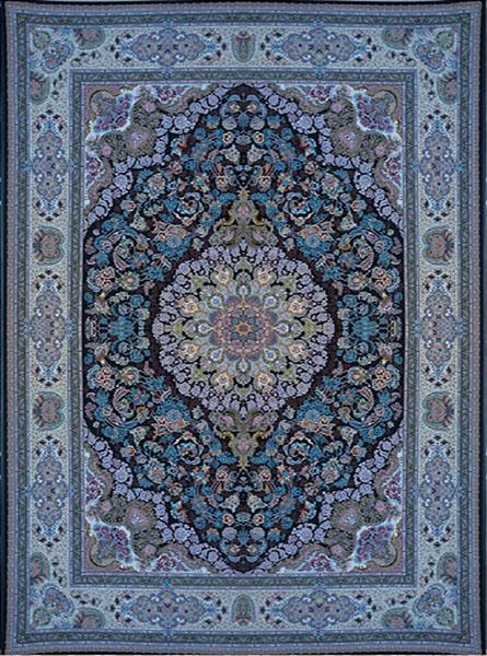 فرش استامبول سرمه ای
