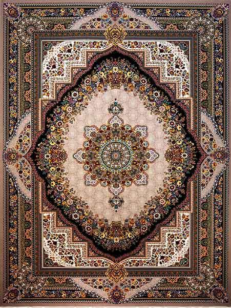 فرش بهشت گردویی