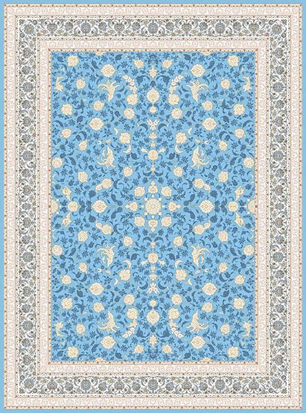 فرش افشاری آبی