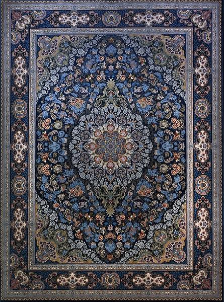 فرش استامبول کاربنی